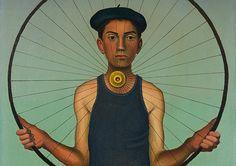 Ricco Wassmer (eigtl. Erich Hans Wassmer), La roue, 1957. Öl auf Leinwand, 55 x 38 cm, Privatbesitz, Schweiz. - © Ruedi A. Wassmer, Zürich