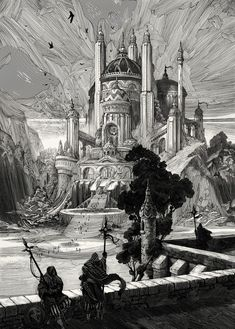 Nico Delort: Illustrations for The Book of Tyrael ©Blizzard...