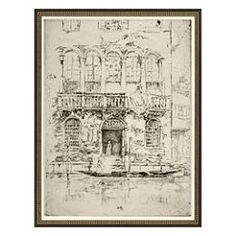 Explore the canals of Venice with our Venice framed art. Group two or three prints together for the complete tour. Whistler's Mother, James Abbott Mcneill Whistler, Bedroom Frames, Philadelphia Museum Of Art, Grand Canal, Bedroom Vintage, Design Consultant, Art Reproductions, Antique Gold
