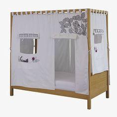 Cama refugio. Ideal para jugar a las casitas sin ocupar más espacio en la habitación!