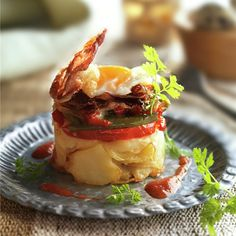 Canapes, Food To Make, Potatoes, Eggs, Pasta, Breakfast, Healthy, Ethnic Recipes, Stuffing Recipes