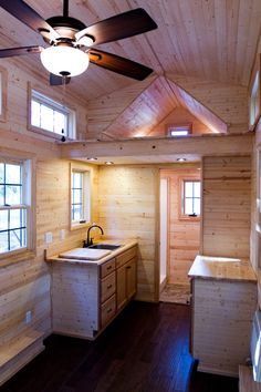 Tiny Living Interior. Looks like they also wrote a book on tiny house living.  I'll have to look for that.