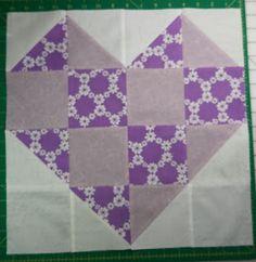 Stash Bee: Purple Heart for Francis