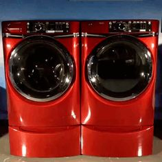 Our washers and dryers with RightHeight risers are the perfect height for you. No pedestals needed!