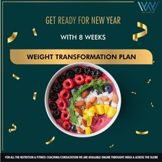 """#WorldOfWOWFitness The New Year always brings with it new plans, commitments, and resolutions. There's no reason you can't make a """"New Year's Resolution"""" any time of year and the best way to keep your resolution is to plan ahead. Get ready for New year with 8 weeks weight transformation plan with World of WOW Fitness. Kick start your New Year with New you! You know the drill, Enrol by leaving a WhatsApp message at +91 88844 33133.  #wowchallenge #fitness #weightloss #newyear #resolution Weight Loss Goals, Weight Loss Motivation, Weight Loss Journey, Worlds Of Wow, Fitness Nutrition, Fitness Weightloss, Copenhagen Diet, Weight Transformation, Sedentary Lifestyle"""