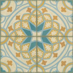 Old World Tiles I - Contemporary & Modern - Subject