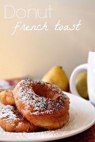 Donut French Toast via @Louisiana Bride