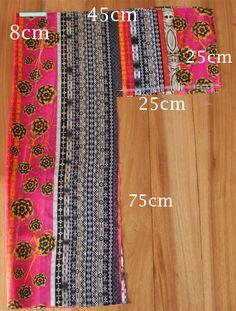 How to make a Kimono Fashion Sewing, Kimono Fashion, Diy Fashion, Tunic Sewing Patterns, Clothing Patterns, Kimono Pattern Free, Diy Clothing, Sewing Clothes, Diy Maxi Skirt