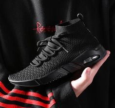 Buy 2019 men running shoes lightweight breathable comfort sport tennis shoes youth boys sneakers gym workout trail shoes plus size 46 47 48 at Wish - Shopping Made Fun Sneakers Fashion, Fashion Shoes, Mens Fashion, Neon Sneakers, Fashion Guide, Fashion Hair, Sport Casual, Men Casual, Branded Shoes For Men