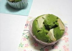 White Chocolate and Green Tea Muffins Recipe -  How are you today? How about making White Chocolate and Green Tea Muffins?