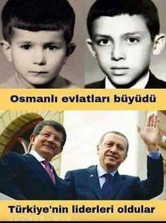 Recep Tayyip Erdoğan ve Ahmet Davutoğlu