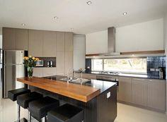 Floorboards  Modern Island Kitchen Design Kitchen Interior Ideas #1305