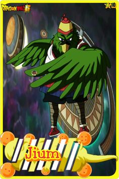 Jium- Team Universe 10. Dragon ball super