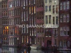 071 A Soft Evening Blanket Covers Amsterdam by Richard Neuman Digital Media ~ 18 x 24