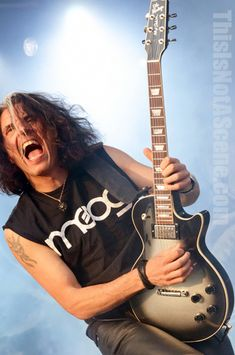 In This Photo: Alex Skolnick of Testament. Bloodstock Festival 2012. Words by Simon Crampton. Photos by me. Copyright of Sabrina Ramdoyal. Do not use without permission.