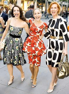 Sex and the City's Best Fashion Moments of All Time: Kristin Davis, Sarah Jessica Parker and Cynthia Nixon