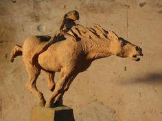 Fanny Ferré, sculpteur Horse Sculpture, Sculpture Clay, Animal Sculptures, Ceramic Animals, Ceramic Art, Clay Animals, Ceramic Sculpture Figurative, Tres Belle Photo, Funky Art