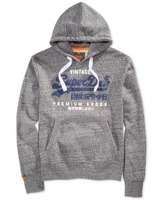25f4f02aabb5 Superdry Men s Premium Goods Duo Graphic-Print Logo Hoodie Men - Hoodies    Sweatshirts - Macy s