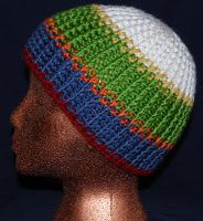 Ribbed Knit Look Hat - free pattern