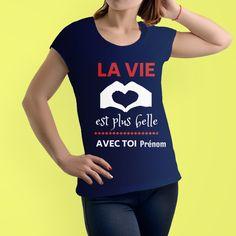 TEEZILY Sweat /à Capuche la Voile m/'Appelle Shirt Unisex