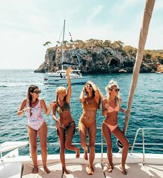 """Going to need a bigger boat"" summer nights, summer vibes, best friend Best Friend Pictures, Bff Pictures, Friend Photos, Beach Pictures, Boating Pictures, Instagram Pictures To Post, Squad Pictures, Squad Photos, Instagram Girls"