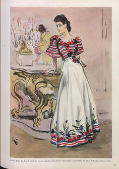 Drawing Chanel - The Fashion Illustrators from 1915 through the – Modig 1930s Fashion, Chanel Fashion, French Fashion, Vintage Fashion, Chanel Style, Vintage Dresses, Vintage Outfits, Chanel Dress, Chanel Couture