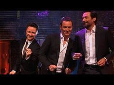 "May be the greatest thing I have ever seen... Watch Hugh Jackman, Michael Fassbender And James McAvoy Dance To ""Blurred Lines"""