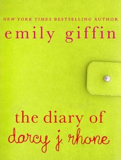 Exclusive Emily Giffin excerpt - very cute but I'm glad it was free on my Nook! Haven't read yet but looking forward to it!