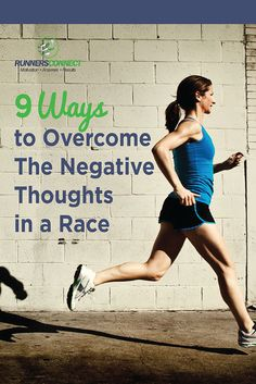 The mental aspect of racing is almost more important than the physical training you have done to get there. These 9 tips are great for switching your perspective when those negative thoughts emerge.