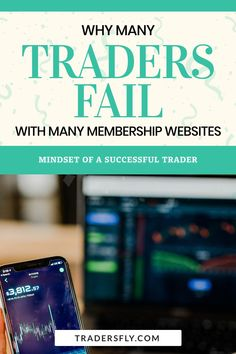 Trading Tips - Do you want to know why many traders fail from using membership websites? Check this out! Stock Market Basics, Fundamental Analysis, Stock Charts, Educational Videos, Make More Money, Discord, Mindset, Fails, Investing