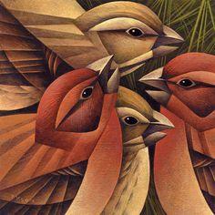 Sarah Tyson: Bird on Behance