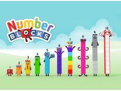 넘버블럭스에 관한 인기 이미지 18개 | 교육, 출력가능한 무료, 숫자 놀이