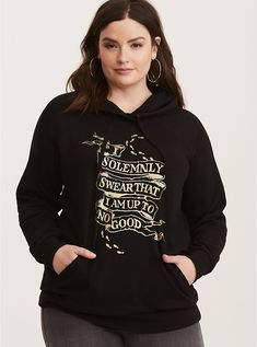 4290dc729ee Harry Potter Marauder s Map Graphic Hoodie