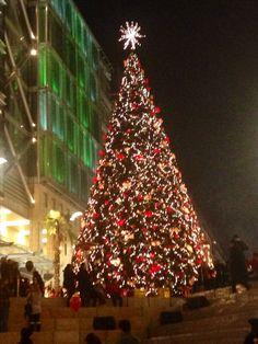 Christmas in Jordan - Abdali Boulevard Amman.