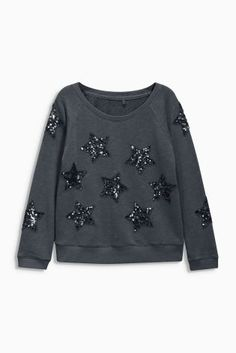 Buy Charcoal Star Sweat (3-16yrs) online today at Next: Israel