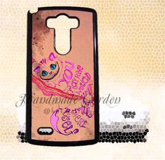 LG G3 case Cheshire Cat Disney LG G2 case HTC One by elsacaseshop