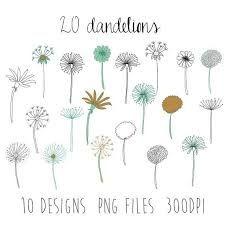 Image result for dandelion drawing
