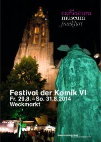 Das offizielle Programmheft zum Festival der Komik VI ist da! Hier durchblättern