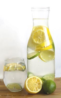 All you need is a pitcher of filtered water, 2 lemons, 2 limes, dice them up toss them in and let it sit for a while so the juice can infuse the water and voila, fresh lemon-lime water.   To add a little sweetness (kind of like lemonade) add some stevia for a 0 calorie blood sugar friendly and natural drink :)   Join our weight loss group for more recipes and tips :) https://www.facebook.com/groups/115931528610720/