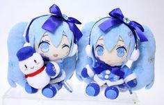 Prize❤vocaloid Snow Miku Hatsune WINTER❤2012 Cute Plush❤super Set ❤taito Japan   eBay