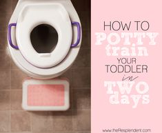 potty train 2 days