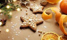 ΣΥΝΤΑΓΕΣ: Χριστουγεννιάτικα μπισκότα με πορτοκάλι και κανέλα χωρίς αβγά και γάλα!