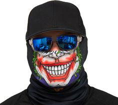Motorcycle Face Mask - Jester