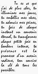 DECLARATION d'Amour !