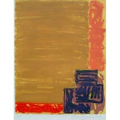 View by John Hoyland RA  1979    Paper size: 69.0cm x 91.7cm Image size: 54.6cm x 69.5cm. A signed aquatint etching printed at JC Editions, London. Edition no P/P.