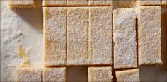Sweeten up shortbread with shredded coconut and a splash of rum