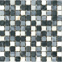 Halcon - mozaiki dekoracyjne PIEDRA Gris Mix (30x30 plaster)