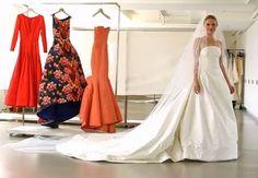 Oscar de la Renta #Bridal Moments | CHWV #KateBorsworth #wedding dress