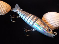 8 Part Articulated Predator Fishing Lures Pike Fishing, Fishing Bait, Predator