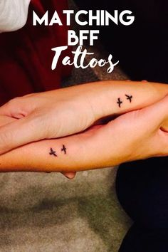 Super Cute Matching Tattoo Ideas For You and Your Best Friend